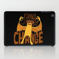 Strange Change iPad Case