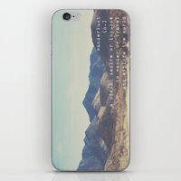 wanderlust ... iPhone & iPod Skin