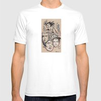 Hater Or Lover Mens Fitted Tee White SMALL