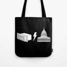 Literal AC/DC Tote Bag