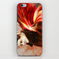 Upon Red Wings iPhone & iPod Skin