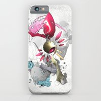 iPhone & iPod Case featuring Ray-Gun  by Ghostsontoast