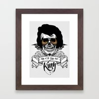 Elvis Presley | The King… Framed Art Print