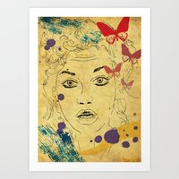 Shocked! Art Print