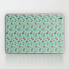 blossom ditsy in grayed jade Laptop & iPad Skin