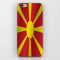 Flag of Macedonia iPhone & iPod Skin