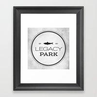 Legacy Park Framed Art Print