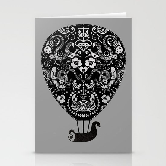 Lucky ride Stationery Card