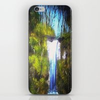 Waterfall iPhone & iPod Skin