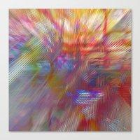 Textural Mountains 2 Canvas Print