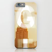 iPhone & iPod Case featuring GEARS of NYC by vin zzep