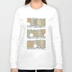 Blocks of Brooklyn (color) Long Sleeve T-shirt