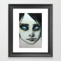 Godhead (the Girl o4) Framed Art Print