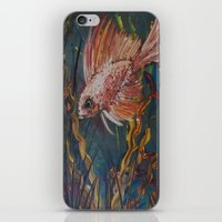 Something is Fishy iPhone & iPod Skin