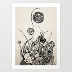 Bothria Art Print
