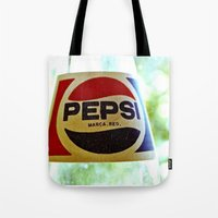 Retro Pepsi Tote Bag