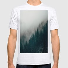 Forest Fire Mens Fitted Tee Ash Grey SMALL