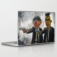 japanese Laptop & iPad Skins featuring Pulp Street by Beery Method