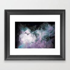 Soaked Chroma Framed Art Print