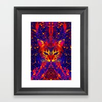 Atziluth-Lady Jasmine  Framed Art Print