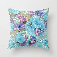 Reef #3 Throw Pillow