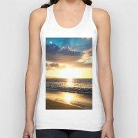 Po'olenalena Beach Sunse… Unisex Tank Top