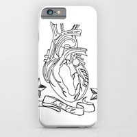 iPhone & iPod Case featuring Love heart by MadamSalami