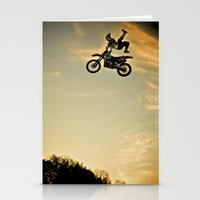 Eigo Sato At Sunset, FMX… Stationery Cards