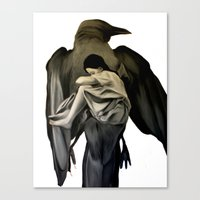 Mocking Bird Canvas Print