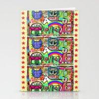 Ride a Rainbow Pony Stationery Cards