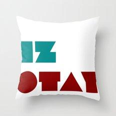 Iz Otay Throw Pillow