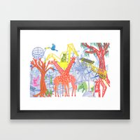 Reforestation Framed Art Print
