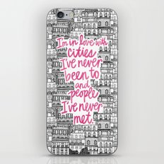 Cities iPhone & iPod Skin