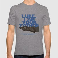Luke I am your father... Mens Fitted Tee Tri-Grey SMALL
