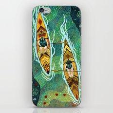 Kayaking iPhone & iPod Skin