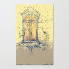 Window in Christiania Canvas Print