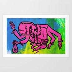 dopesick lovefiend Art Print