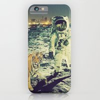 iPhone & iPod Case featuring tiger by Caroline A