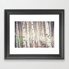 Trees Framed Art Print