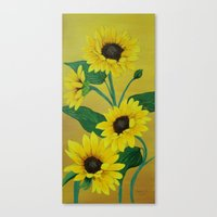 Sunny and bright Canvas Print