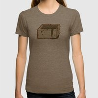 Moab Is My Washpot Womens Fitted Tee Tri-Coffee SMALL