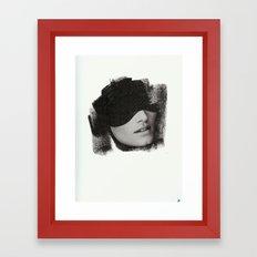 shit Framed Art Print