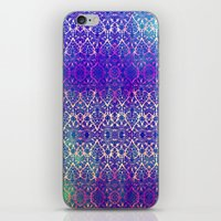 BABEELON BLUE iPhone & iPod Skin