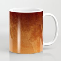 Orange Fire Watercolor A… Mug