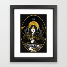 the dm Framed Art Print