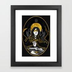 the dm Framed Art Print