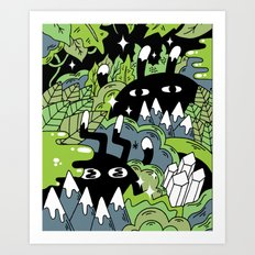 Little Lurkers Art Print