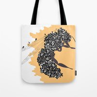 Seeds and the wasp Tote Bag