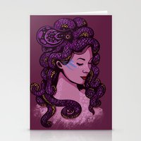 A Mermaid's Hair Stationery Cards