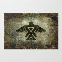 Thunderbird, Emblem Of T… Canvas Print